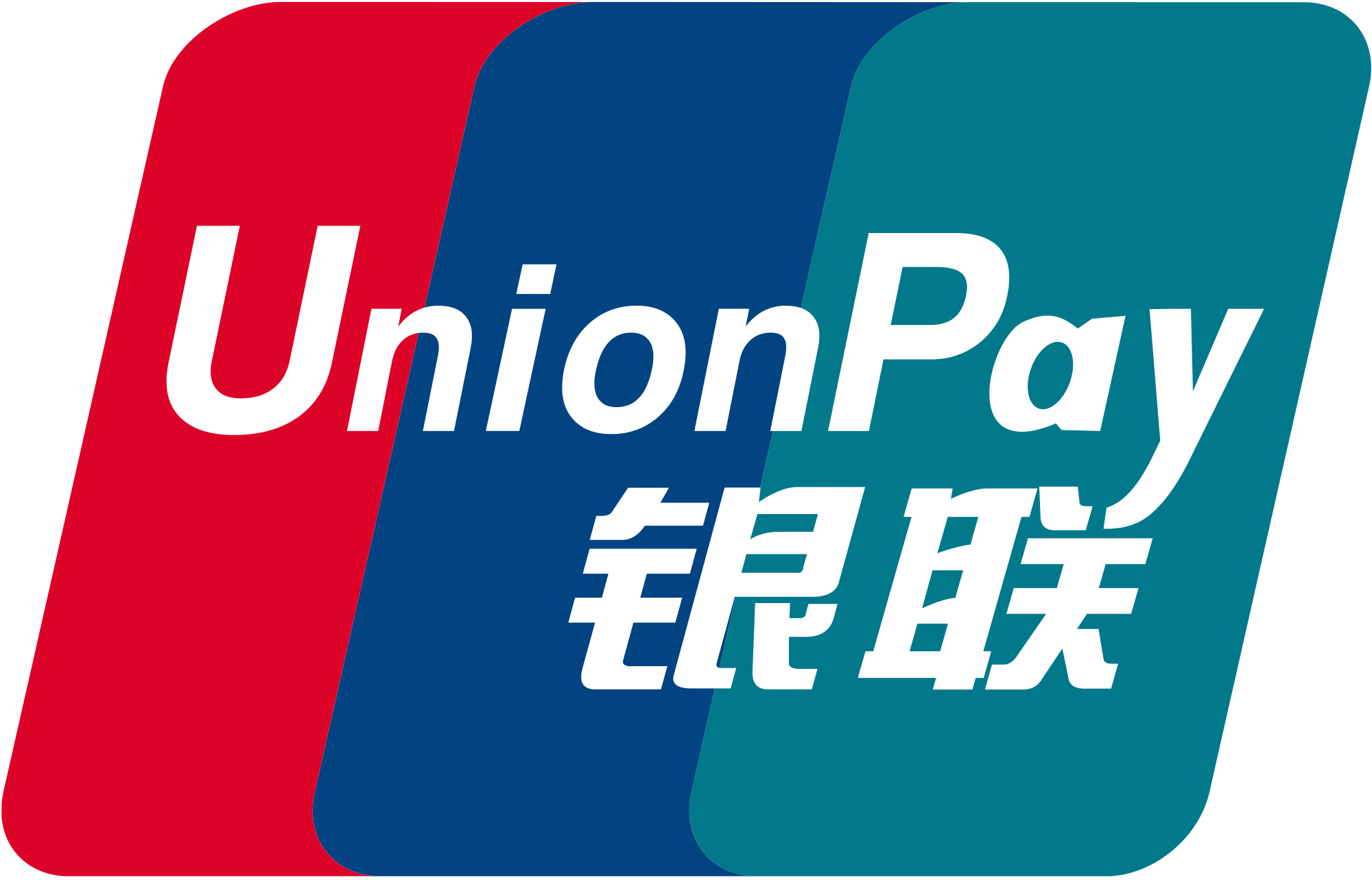 Acceptance Marks Union Pay