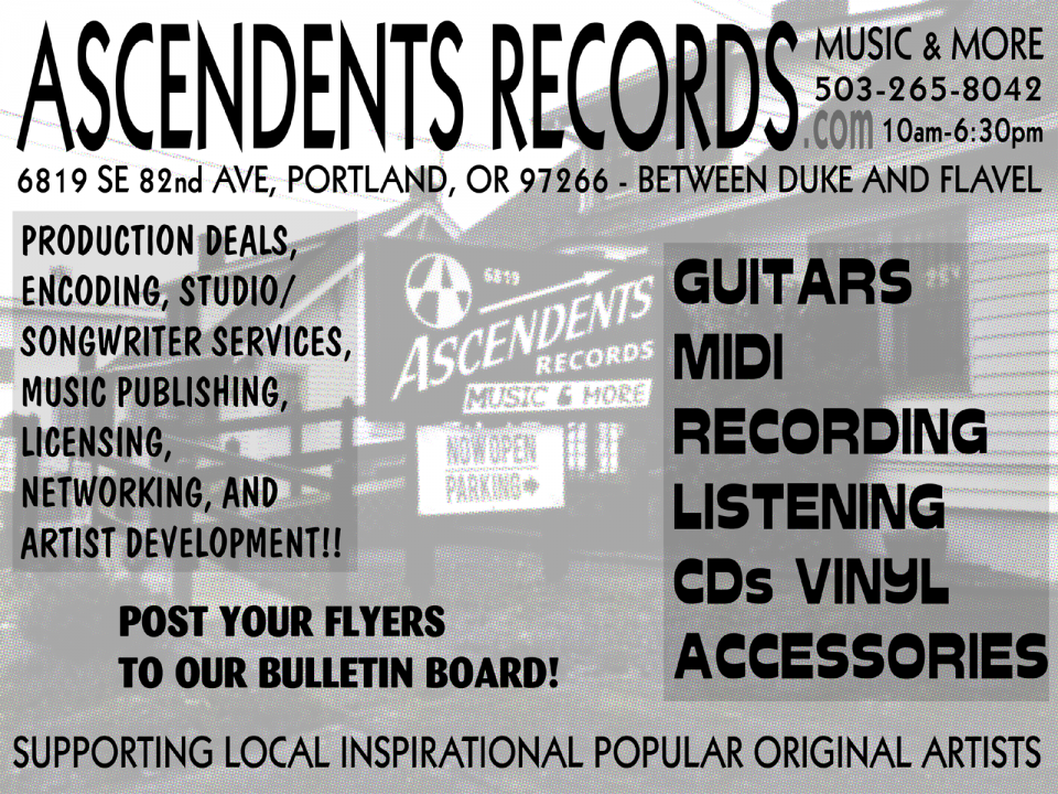 Ascendents lead singer started Ascendents Records