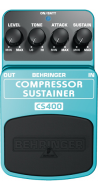 Behringer Compressor Pedal Sustainer CS400