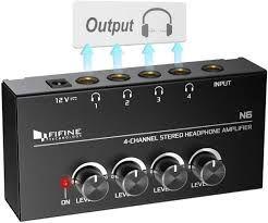 """N6 Headphone Amplifier 4-ch TRS 1/4"""""""