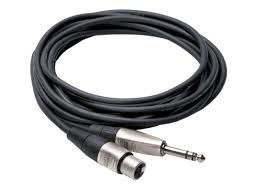TRS to XLR3M Pro Balanced Interconnect Cable HSX