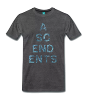 Ascendents Letters T-shirt