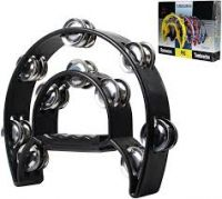 TAM20 Black Double Row Tamborine