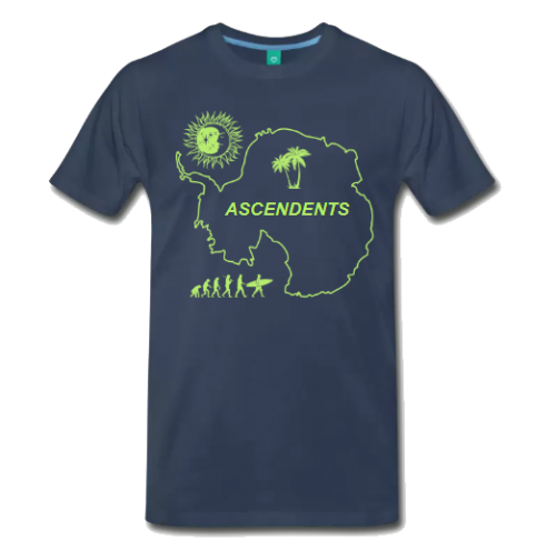 Ascendents Antarctica T-shirt