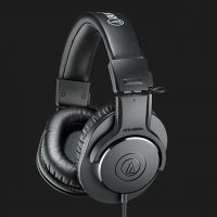 Audio Technica Closed-Back ATH-M20x Professional Studio Monitor Headphones