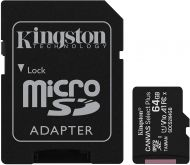 Kingston 64GB MicroSD w/ adapter